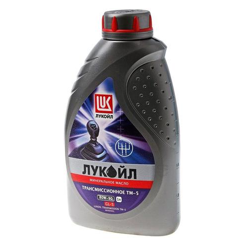 Масло трансмиссионное минеральное LUKOIL ТМ-5, 80W-90, 4л [19551]
