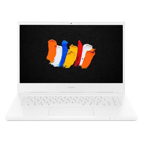 "Ноутбук ACER ConceptD 3 CN315-72G-596H, 15.6"", IPS, Intel Core i5 10300H 16ГБ, 512ГБ SSD, nVidia GeForce GTX 1650 - 4096 Мб, Windows 10 Professional, NX.C5XER.003, белый"
