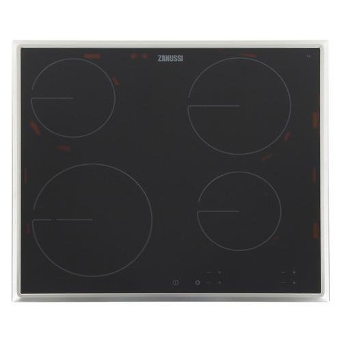 Варочная панель Zanussi CPZ643KM, Hi-Light, независимая, черный