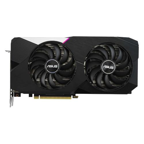 Видеокарта ASUS NVIDIA GeForce RTX 3060Ti , DUAL-RTX3060TI-O8G-V2, 8ГБ, GDDR6, OC, LHR, Ret