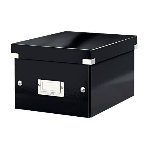 Короб для хранения Leitz Click & Store, картон, черный [60430095]