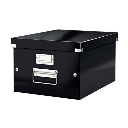 Короб для хранения Leitz Click & Store, картон, черный [60440095]