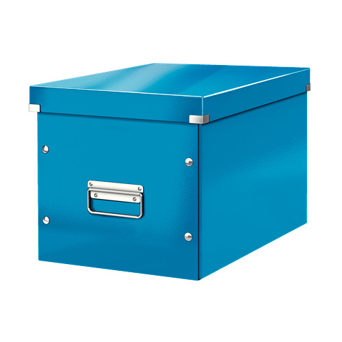 Короб для хранения Leitz Click & Store L, картон, синий [61080036]
