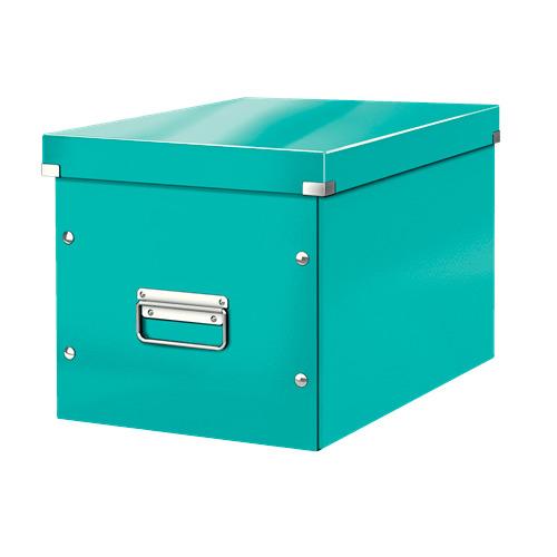 Короб для хранения Leitz Click & Store L, картон, бирюзовый [61080051]