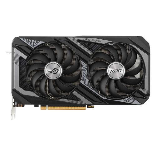 Видеокарта ASUS AMD Radeon RX 6600XT, ROG-STRIX-RX6600XT-O8G-GAMING, 8ГБ, GDDR6, OC, Ret