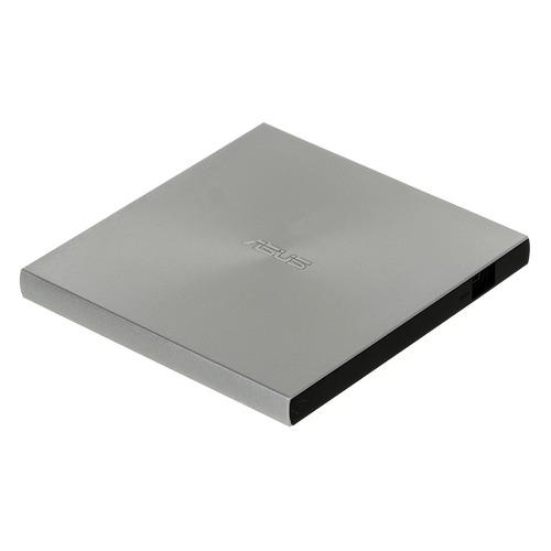 Оптический привод DVD-RW ASUS SDRW-08U8M-U, внешний, USB Type-C, серебристый, Ret [sdrw-08u8m-u/sil/g/as/p2g]