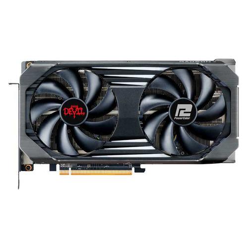 Видеокарта POWERCOLOR AMD Radeon RX 6600XT , AXRX 6600XT 8GBD6-3DHE/OC, 8ГБ, GDDR6, OC, Ret