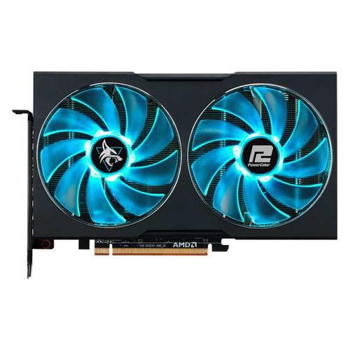Видеокарта POWERCOLOR AMD Radeon RX 6600XT , AXRX 6600XT 8GBD6-3DHL/OC, 8ГБ, GDDR6, OC, Ret