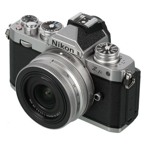 Фото - Фотоаппарат Nikon Z fc EU SL kit ( Nikkor Z DX16-50mm f/3.5-6.3 VR), черный [voa090k002] цифровой фотоаппарат nikon z fc kit 16 50mm vr