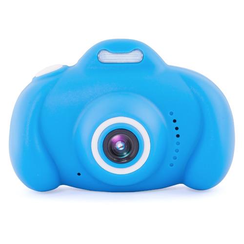 Фото - Цифровой фотоаппарат Rekam iLook K410i, голубой дисплей