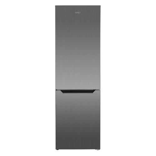 Холодильник KRAFT TNC-NF302X, двухкамерный, нержавеющая сталь