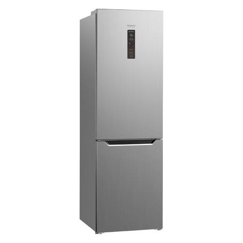 Холодильник KRAFT TNC-NF402X, двухкамерный, нержавеющая сталь