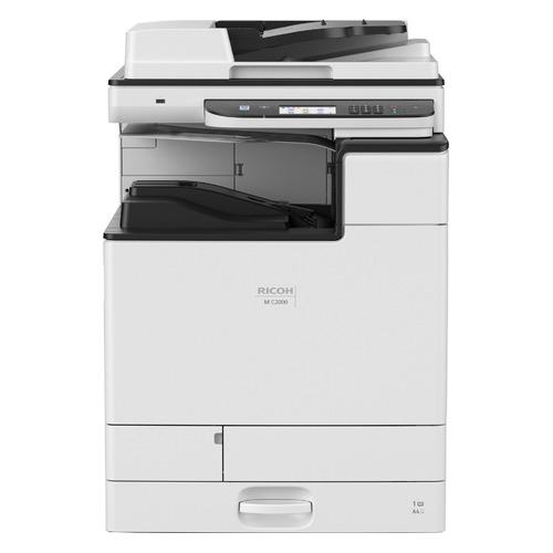 МФУ лазерный Ricoh M C2000, A3, цветной, лазерный, белый [418968]