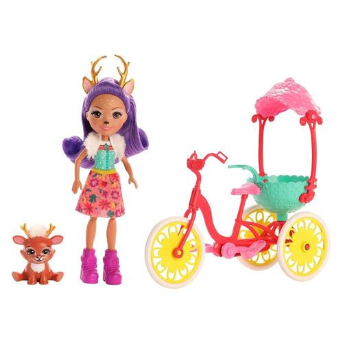 Кукла ENCHANTIMALS Велосипедисты [gjx30]