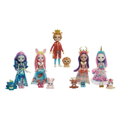 Игровой набор ENCHANTIMALS Королевские друзья куклы с питомцами [gyn58]