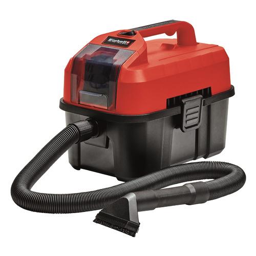 Строительный пылесос EINHELL PXC TE-VC 18/10 Li - Solo, аккумуляторный, красный [2347160] радиоприемник einhell te cr 18 li solo красный