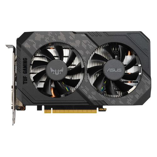 Видеокарта ASUS NVIDIA GeForce GTX 1660TI, TUF-GTX1660TI-T6G-EVO-GAMING, 6ГБ, GDDR6, Ret