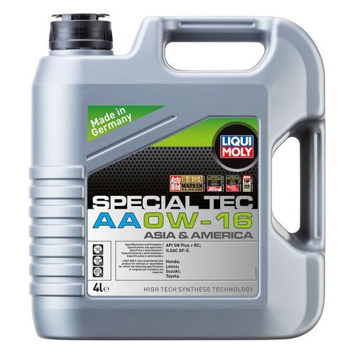 Моторное масло LIQUI MOLY Special Tec AA 0W-16 4л. синтетическое [21327]