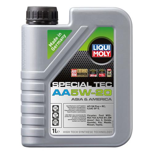 Моторное масло LIQUI MOLY Special Tec AA 5W-20 1л. синтетическое [7620]