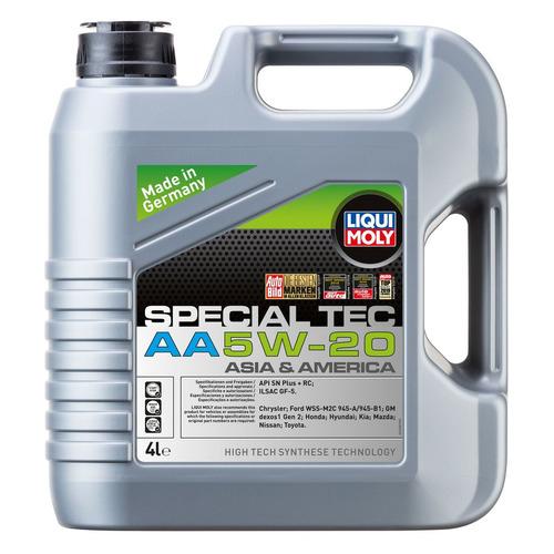 Моторное масло LIQUI MOLY Special Tec AA 5W-20 4л. синтетическое [7621]