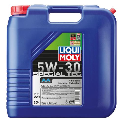 Моторное масло LIQUI MOLY Special Tec AA 5W-30 20л. синтетическое [7517]