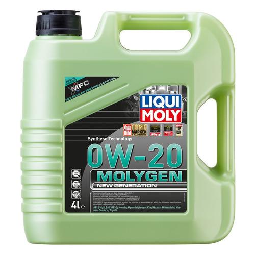Фото - Моторное масло LIQUI MOLY Molygen New Generation 0W-20 4л. синтетическое [21357] моторное масло liqui moly molygen new generation 10w 40 4 л