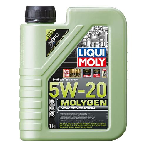Фото - Моторное масло LIQUI MOLY Molygen New Generation 5W-20 1л. синтетическое [8539] моторное масло liqui moly molygen new generation 10w 40 4 л