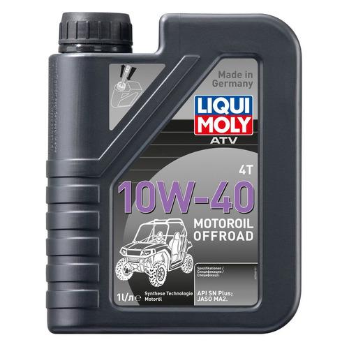 Моторное масло LIQUI MOLY ATV 4T Motoroil Offroad 10W-40 1л. синтетическое [7540]