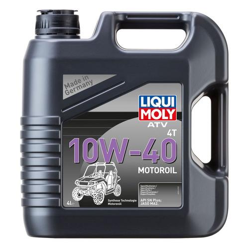 Моторное масло LIQUI MOLY ATV 4T Motoroil Offroad 10W-40 4л. синтетическое [7541] недорого