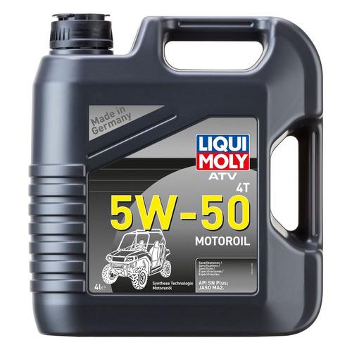Моторное масло LIQUI MOLY ATV 4T Motoroil 5W-50 4л. синтетическое [20738]
