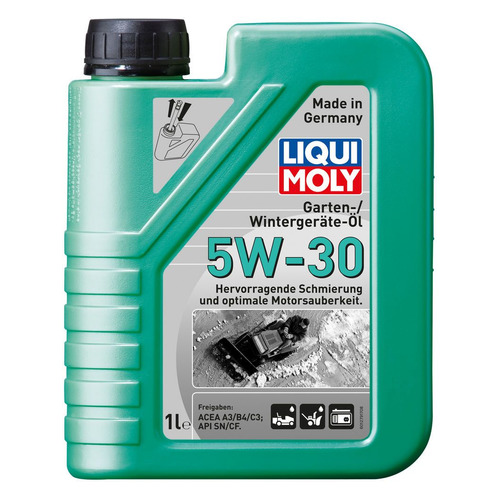 Фото - Моторное масло LIQUI MOLY Garten-Wintergerate-Oil 5W-30 1л. синтетическое [39018] моторное масло mitsubishi genuine oil 5w 30 1л синтетическое [mz320756]
