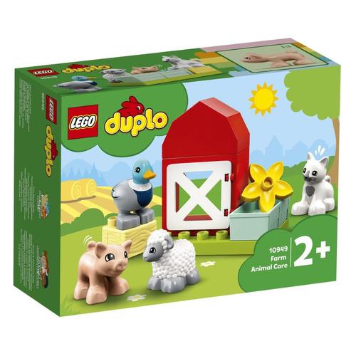 Конструктор Lego Duplo Уход за животными на ферме, 10949