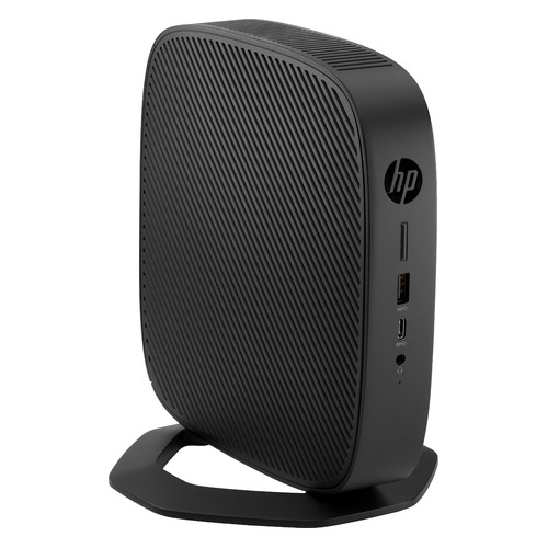 Тонкий клиент HP t540, AMD Ryzen R1305G, 8ГБ, 128ГБ(SSD), Windows 10 IoT Enterprise, черный [1x7n1aa]