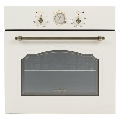 Духовой шкаф GEFEST ЭДВ ДА 602-02 К64S, кремовый