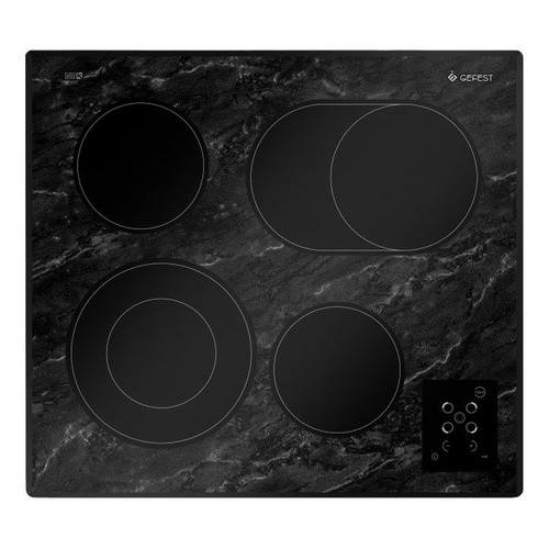 Варочная панель GEFEST ЭС В СН 4231 К53, электрическая, независимая, черный