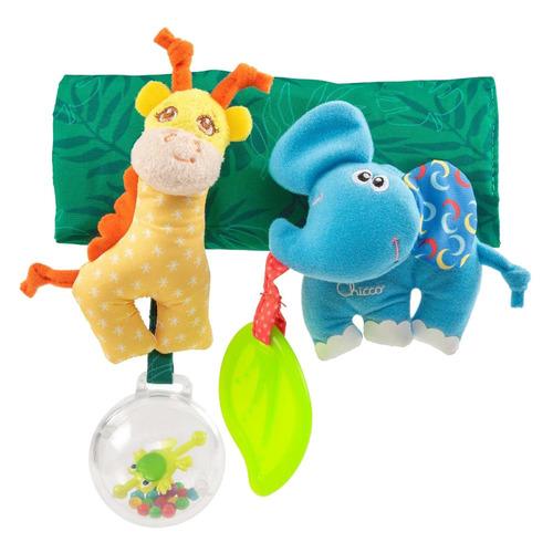 Игрушка Chicco Жираф и Слоник разноцветный (00010060000000)