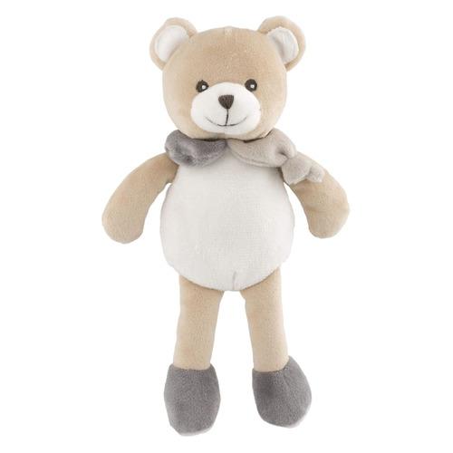 Мягкая игрушка Chicco Медвежонок Doudou (00009617000000) серый/бежевый 17см (0+)