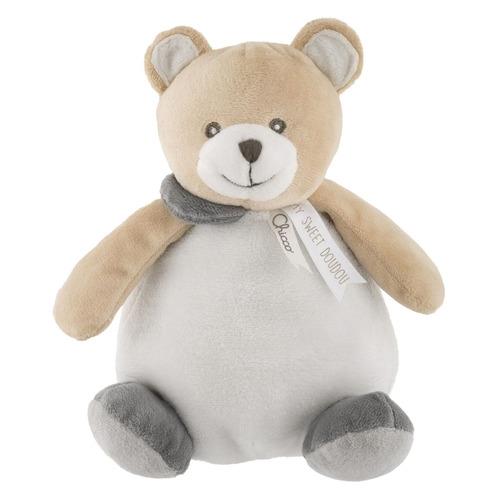 Мягкая игрушка Chicco Teddy Bear Ball (00009712000000) серый/бежевый 17см (0+)