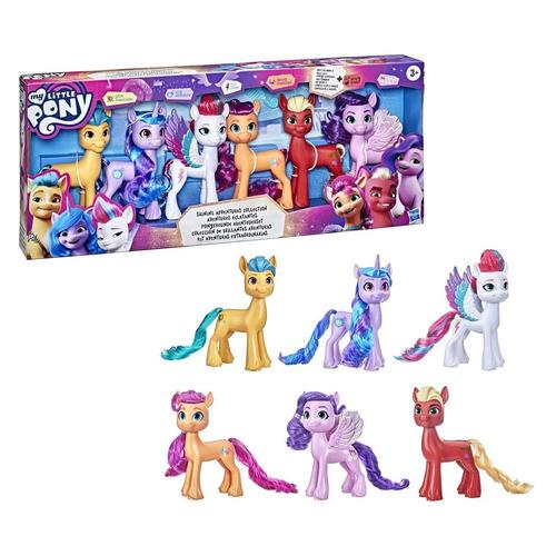 Игровой набор My Little Pony 6 Мега Пони [f17835l0] my little pony movie мерцание пони в волшебных платьях