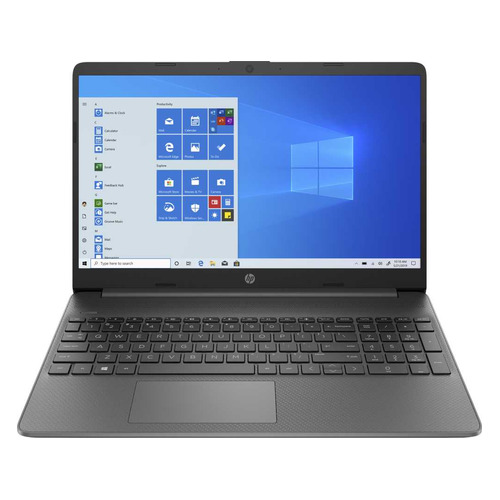 Ноутбук HP 15s-eq1148ur, 15.6, IPS, AMD Athlon Silver 3050U 2.3ГГц, 4ГБ, 256ГБ SSD, AMD Radeon , Windows 10, 22Q03EA, серый