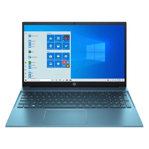 """Ноутбук HP Pavilion 15-eg0099ur, 15.6"""", IPS, Intel Core i3 1125G4 2.0ГГц, 8ГБ, 512ГБ SSD, Intel UHD Graphics , Windows 10, 3B2V3EA, темно-бирюзовый"""