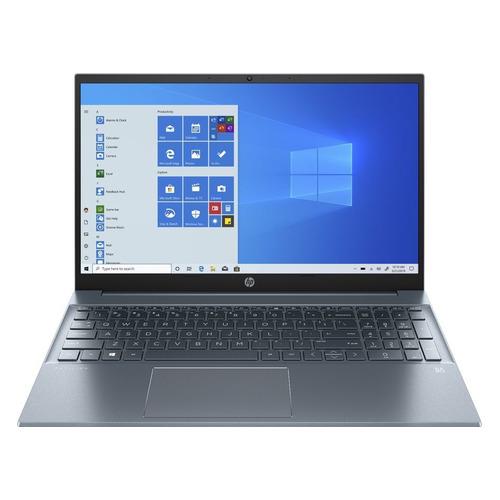"""Ноутбук HP Pavilion 15-eg0100ur, 15.6"""", IPS, Intel Core i3 1125G4 2.0ГГц, 8ГБ, 512ГБ SSD, Intel UHD Graphics , Windows 10, 3B3E8EA, синий"""