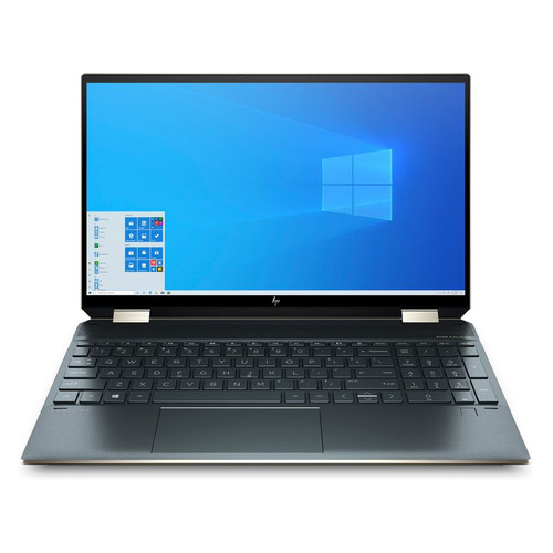 "Ноутбук-трансформер HP Spectre 15-eb1003ur, 15.6"", IPS, Intel Core i7 1165G7 2.8ГГц, 16ГБ, 1ТБ SSD, Intel Iris Xe graphics , Windows 10, 2X2A7EA, темно-синий"