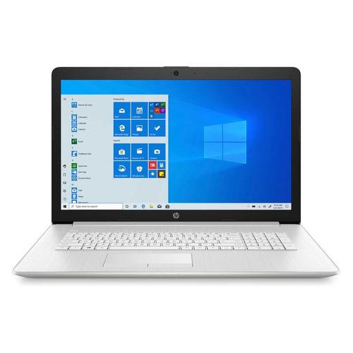 "Ноутбук HP 17-by2069ur, 17.3"", Intel Core i3 10110U 2.1ГГц, 8ГБ, 512ГБ SSD, Intel UHD Graphics , DVD-RW, Windows 10, 2X3B1EA, серебристый"