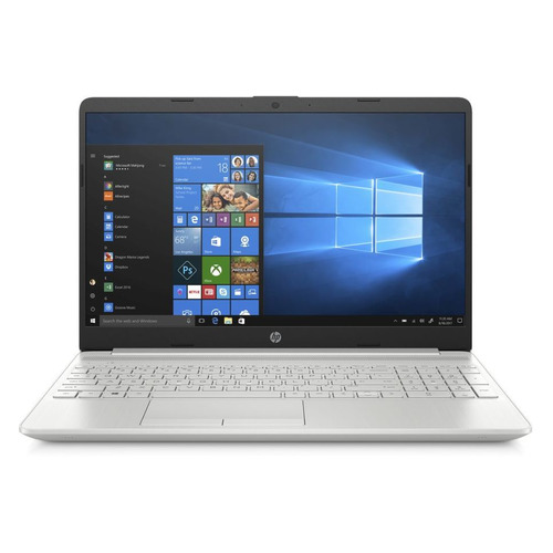 "Ноутбук HP 15-dw1194ur, 15.6"", IPS, Intel Core i5 10210U 1.6ГГц, 8ГБ, 512ГБ SSD, Intel UHD Graphics , Windows 10, 2Z7S5EA, серебристый"