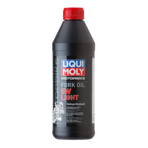 Масло вилочн. Liqui Moly Motorbike Fork Oil Light 1л. синтет. мототех. (2716)