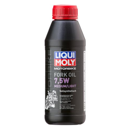 Масло вилочн. Liqui Moly Motorbike Fork Oil Medium/Light 0.5л. синтет. мототех. (3099)