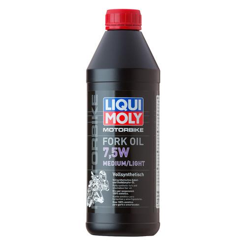 Масло вилочн. Liqui Moly Motorbike Fork Oil Medium/Light 1л. синтет. мототех. (2719)