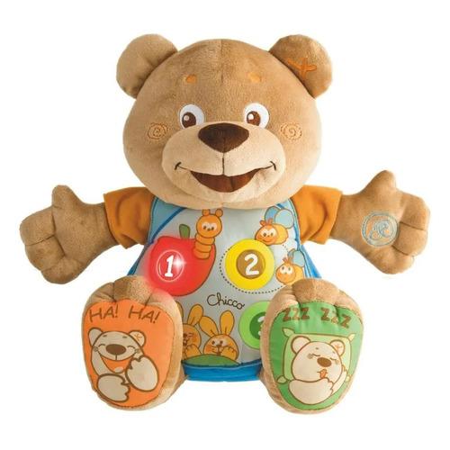 Интерактивная игрушка Chicco Говорящий Мишка Teddy [00060014000180]
