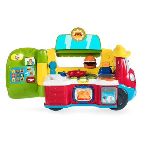Интерактивная игрушка Chicco Фургон-кухня [00007416000180]
